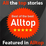 Featured Author on Alltop